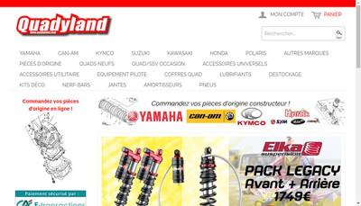 Site internet de Quadyland
