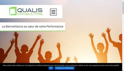 Site internet de Qualis Consulting