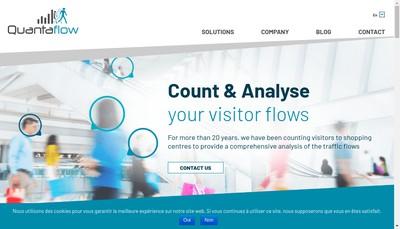 Site internet de Quantaflow