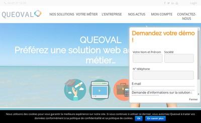 Site internet de Queoval