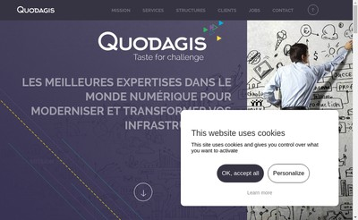 Site internet de Quodagis It