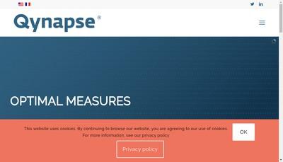 Site internet de Qynapse