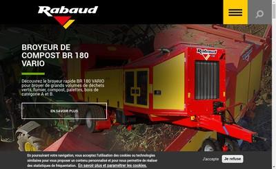 Site internet de Rabaud