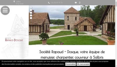 Site internet de Societe Rapaud-Dosque