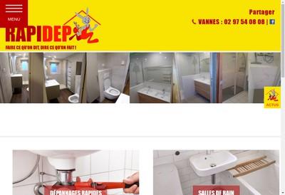 Site internet de Rapidep - Rapidep Lorient