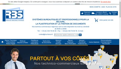 Site internet de Renaud Binding Systemes