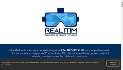 Site internet de Realitim