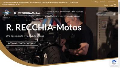 Site internet de Euro Motos