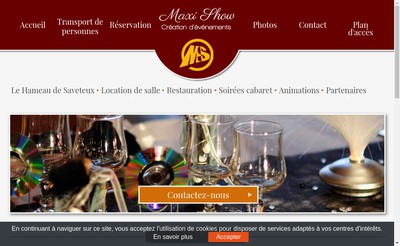 Site internet de Maxi-Show