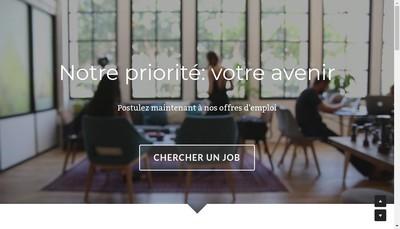 Site internet de Recrutop Ouest