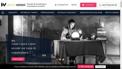 Site internet de Recto Versoi