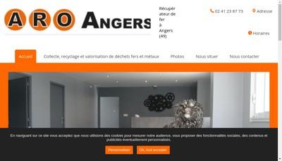 Site internet de Aro Angers