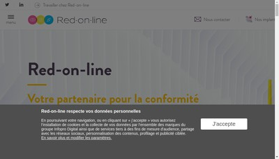 Site internet de Envirodroit Net-le Fil Envirodroit Net