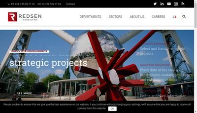 Site internet de Redsen France