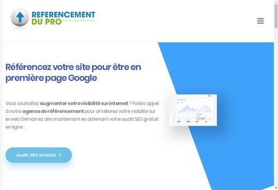 Site internet de Referencement du Pro