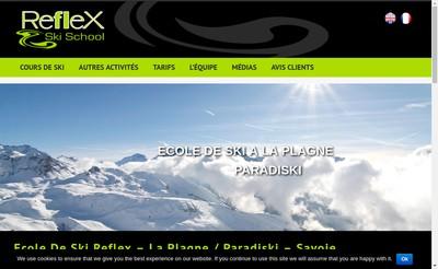 Site internet de Reflex Ski School