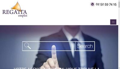 Site internet de Regatta Emploi
