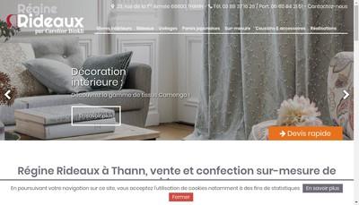Site internet de Regine Rideaux By Caro