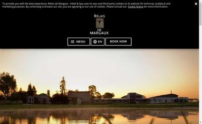 Site internet de Relais de Margaux