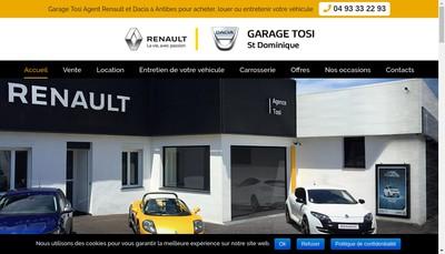 Site internet de Holding Tosi Saint-Dominique