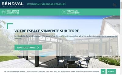 Site internet de Renoval - Renoval Industrie
