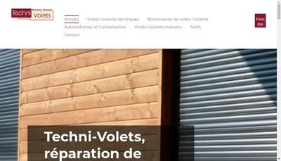 Site internet de Techni-Volets