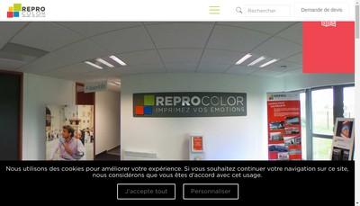 Site internet de Reprocolor