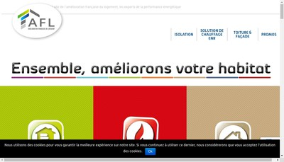 Site internet de Afl Artois