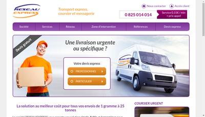 Site internet de Fast Line