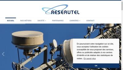 Site internet de Reseautel