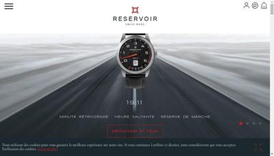 Site internet de Reservoir Watch