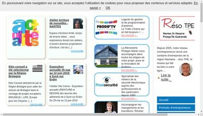 Site internet de Michel Sauvo-Deversannes