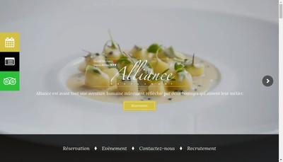 Site internet de Alliance
