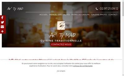 Site internet de Ar Ty Mad
