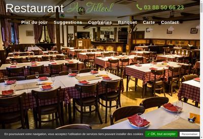Site internet de Au Tilleul