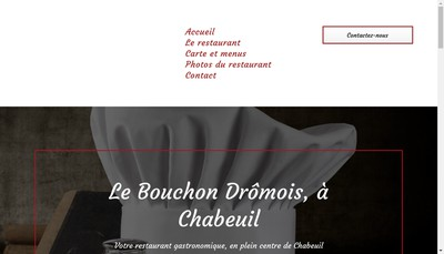 Site internet de Bouchon Dromois