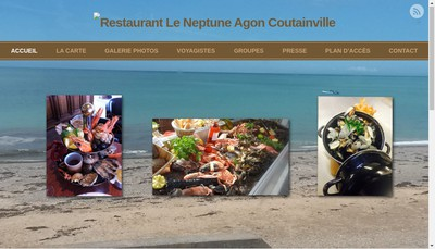 Site internet de Le Neptune