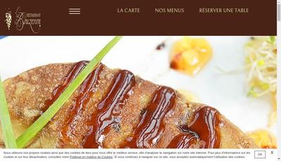 Site internet de Restaurant le Bouzeron