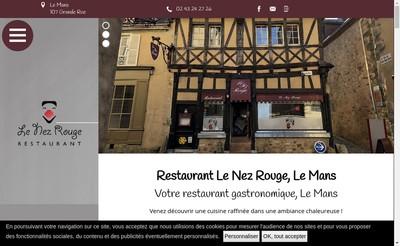 Site internet de Le Nez Rouge