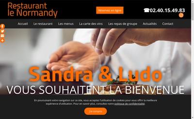 Site internet de Restaurant le Normandy