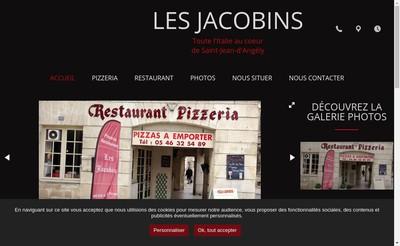 Site internet de Restaurant les Jacobins