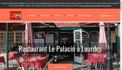 Site internet de Le Palacio