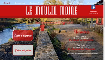 Site internet de Le Moulin Moine