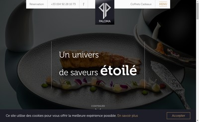 Site internet de Paloma