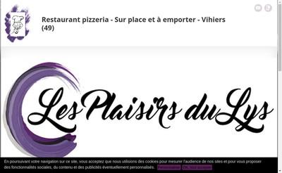 Site internet de Restaurant du Lys