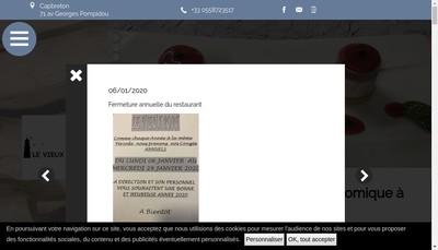 Site internet de Le Vieux Port