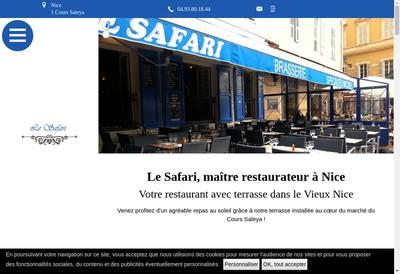 Site internet de SARL le Safari