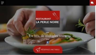 Site internet de La Perle Noire