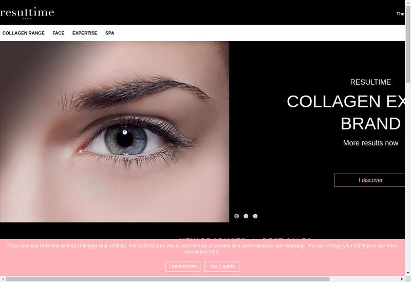 Capture d'écran du site de Laboratoire Cosmetique de Lecousse