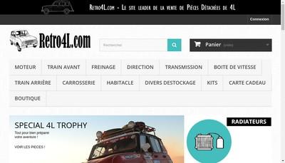 Site internet de Retro 4L